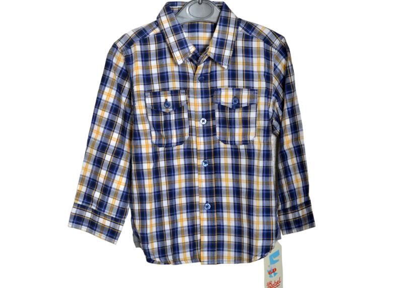 661444703 Rebel Toddler Boy Plaid Flannel Shirt - Sudaniz Baby World