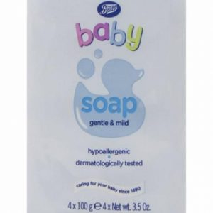 Boots Bar Soap 4 in 1