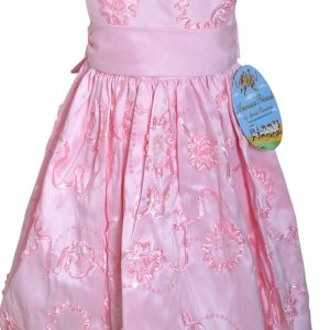 American Princess Special Occassion Pink Sequine Dress