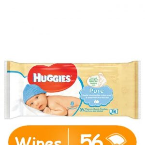 Huggies Pure Baby Wipes – 56 Count
