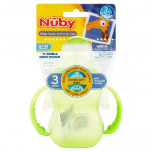 Nuby Grow With Me Cup,BPA free