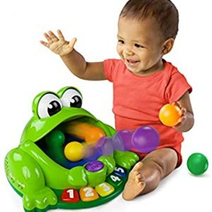 Bright Starts Pop & Giggle Pond Pal Ball Popper Musical Activity Toy